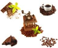 Accumulazione del caffè Fotografie Stock Libere da Diritti