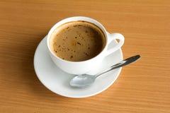 Accumulazione del caffè - tazza del caffè espresso Fotografie Stock