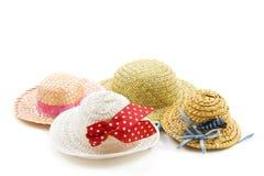 Accumulazione del cappello Fotografie Stock Libere da Diritti