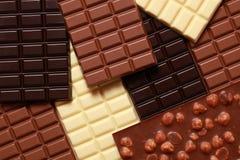 Accumulazione del cioccolato Immagine Stock