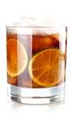 Accumulazione del cocktail dell'alcool - Cuba Libre Fotografie Stock Libere da Diritti