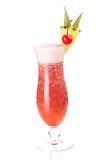 Accumulazione del cocktail: Fragola Pina Colada Immagini Stock Libere da Diritti