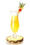 Accumulazione del cocktail: Pina Colada Fotografie Stock