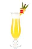 Accumulazione del cocktail: Pina Colada Fotografia Stock Libera da Diritti