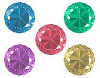 Accumulazione del diamante Fotografia Stock