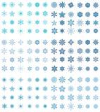Accumulazione del fiocco di neve di premio Fotografia Stock Libera da Diritti