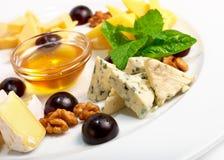 Accumulazione del formaggio Immagini Stock