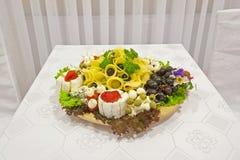 Accumulazione del formaggio Immagine Stock