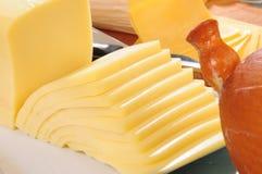 Accumulazione del formaggio. Le serie, vedono più? Immagine Stock Libera da Diritti