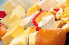 Accumulazione del formaggio. Le serie, vedono più? Fotografia Stock