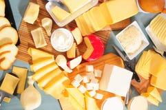 Accumulazione del formaggio. Le serie, vedono più? Fotografia Stock Libera da Diritti