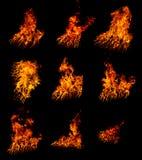 Accumulazione del fuoco Immagine Stock Libera da Diritti