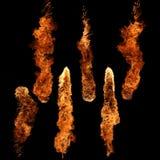 Accumulazione del fuoco Immagini Stock