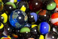 Accumulazione del marmo & della terra Fotografie Stock Libere da Diritti