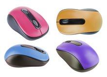 Accumulazione del mouse del calcolatore Immagini Stock Libere da Diritti