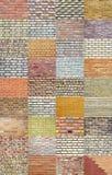 Accumulazione del muro di mattoni Immagini Stock Libere da Diritti