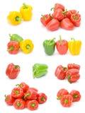 Accumulazione del pepe Fotografia Stock