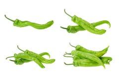 Accumulazione del pepe verde Immagine Stock Libera da Diritti
