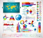 Accumulazione del supervisore di infographics di premio: Fotografie Stock Libere da Diritti