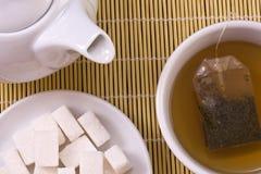Accumulazione del tè Immagine Stock