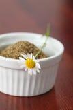 Accumulazione del tè - camomilla Fotografia Stock