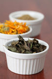 Accumulazione del tè - menta Immagini Stock
