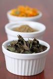 Accumulazione del tè - menta Fotografia Stock
