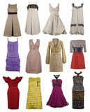 Accumulazione del vestito da modo Immagine Stock