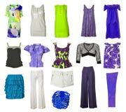 Accumulazione del vestito e dei pattini Immagine Stock Libera da Diritti