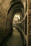 Accumulazione del vino Immagini Stock