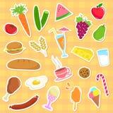 Accumulazione dell'alimento Fotografia Stock Libera da Diritti