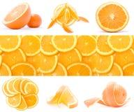 Accumulazione dell'arancio Immagine Stock Libera da Diritti
