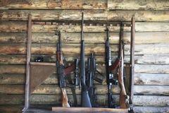 Accumulazione dell'arma Fotografia Stock Libera da Diritti