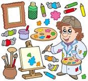 Accumulazione dell'artista royalty illustrazione gratis