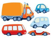 Accumulazione dell'automobile Fotografia Stock Libera da Diritti