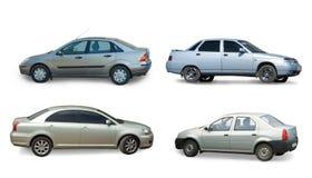 Accumulazione dell'automobile grigia Immagine Stock