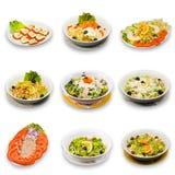 Accumulazione dell'insalata Immagini Stock