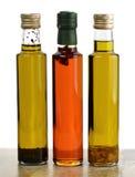 Accumulazione dell'olio da cucina Fotografia Stock