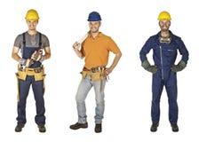 Accumulazione dell'operaio Immagine Stock Libera da Diritti