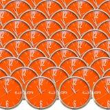 Accumulazione dell'orologio Immagine Stock