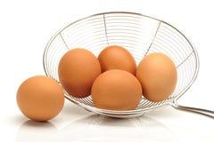 Accumulazione dell'uovo Fotografia Stock Libera da Diritti