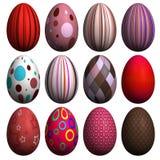 Accumulazione dell'uovo di Pasqua Immagine Stock