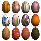 Accumulazione dell'uovo di Pasqua Immagine Stock Libera da Diritti
