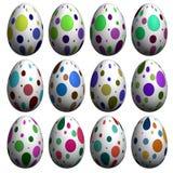 Accumulazione dell'uovo di Pasqua Fotografia Stock
