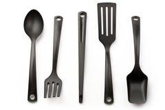 Accumulazione dell'utensile della cucina Fotografie Stock