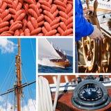 Accumulazione dell'yacht e della barca Immagine Stock