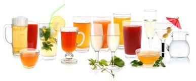 Accumulazione della bevanda Immagine Stock Libera da Diritti