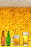 Accumulazione della birra Fotografie Stock Libere da Diritti