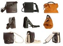 Accumulazione della borsa della donna Fotografia Stock Libera da Diritti