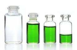 Accumulazione della bottiglia di vetro Immagine Stock Libera da Diritti